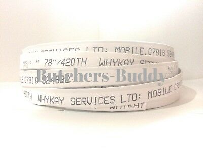 """NEW Meat & Fish cutting Bandsaw Blades 98"""""""