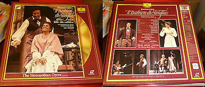 Doppio Cd Video G Rossini Opera Il Barbiere Di Siviglia Deutsche Grammophon Ddd