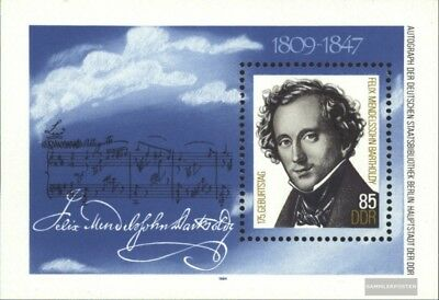Ddr Block62 Used 1981 Mozart complete.issue