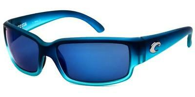 b1e80f921014 Costa Del Mar Caballito Sunglasses CL 73 Blue / Blue 580P Polarized Plastic