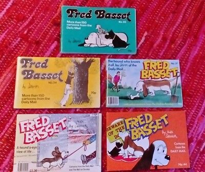 Vintage Fred Basset Cartoon Books - Daily Mail. Total. 5