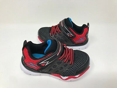 a55607e6910c NEW! BOY S (TODDLER) Skechers 97530N Skech-Train Athletic Shoes ...