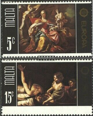 Malta 512-513 (complete issue) unmounted mint / never hinged 1975 Paintings