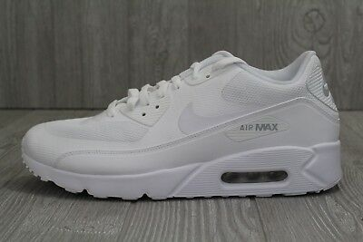 ca7cc1280a828 30 New Mens Nike Air Max 90 Ultra 2.0 Essential White 875695-101 Shoes 9