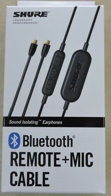 Shure Bluetooth Remote+Mic Cable RMCE-BT1