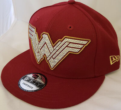 NWT NEW ERA Wonder Woman DC comics movie 9FIFTY SNAPBACK adjustable cap hat