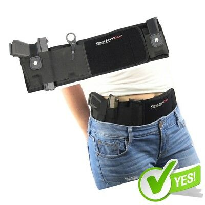 Qipi Concealed Carry Belly Band Holster with QuickDraw Thumb