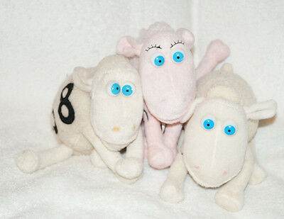 lot 3 serta mattress plush counting sheep number 1 58 creme white pink cancer 2999 picclick serta mattress sheep r55 serta
