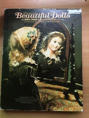 A Treasury Of Beautiful Dolls By John Noble -  Large Hard Cover Book G/c