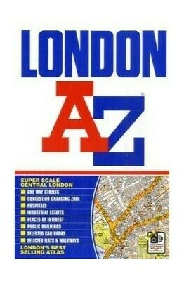 London Street Atlas (paperback) (A-Z Street... by Geographers A-Z Map  Paperback