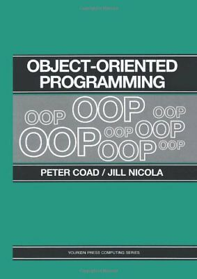 Object-Oriented Programming (Yourdon Press Computing... by Coad, Peter Paperback