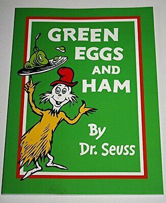 Green Eggs and Ham by Dr Seuss Book The Cheap Fast Free Post