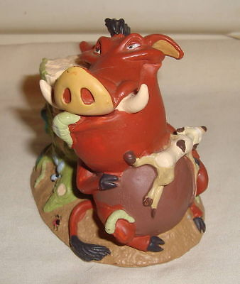Disney Pumbaa & Timon From Lion King Pvc Figure Cake Topper Disney Store