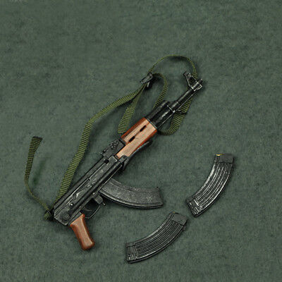 1//6 AK 47 Assault Rifle Soldier Weapon DRAGON Soviet for hot toys phicen ❶USA❶