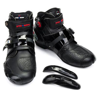 Motorcycle Black Boots Offroad Sport Motorbike MXGP Racing WaterProof Shoes