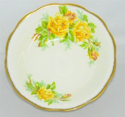 1-Royal Albert Yellow Tea Rose Soup / Cereal Bowl England ( 14 Available )