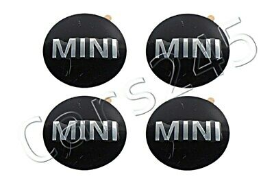 Genuine MINI R50 R53 R56 R55 R52 Wheel Center Hub Cap Emblem Logo Sticker 4x SET