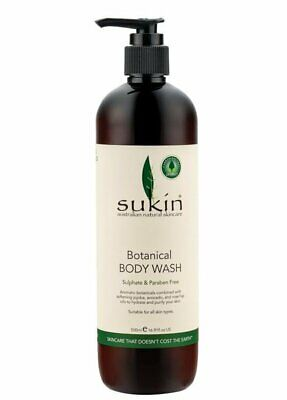 Sukin-Botanical Body Wash 500ml