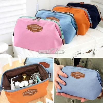 Waterproof Cosmetic Makeup Bag Pencil Case Storage Pouch Purse Handbag US SHIP