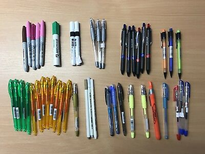 Assorted Selection of Pens x 35 ** REDUCED TO CLEAR AS OLD STOCK!! **