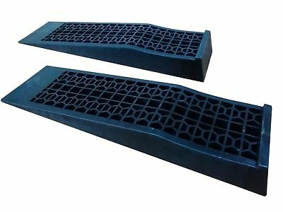 New 1.5 TON HEAVY DUTY HOME DIY LOW RISE FOR LOW SPORTS CARS PLASTIC RAMP PAIR