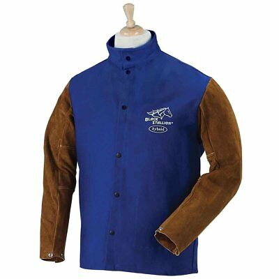 Revco FRB9-30C/BS-M Flame Resistant Cotton & Cowhide Hybrid Welding Jacket,