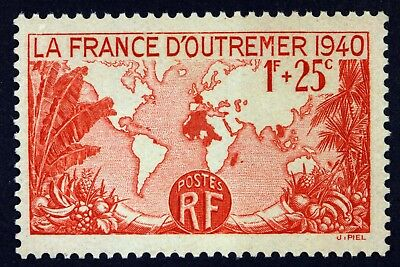 France Outremer    Timbre Neuf N° 453 **  Mnh 1940    B4