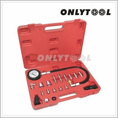 Engine Oil Transmission Fluid Pressure Tester Gauge Diagnostic Test Kit
