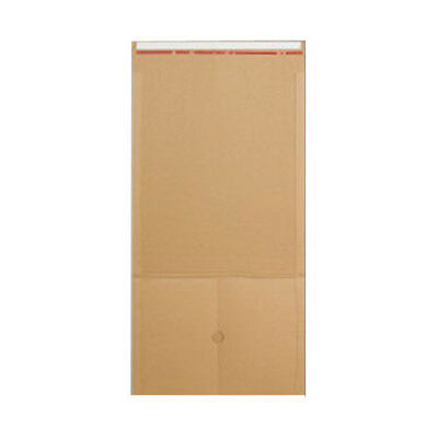 50 Manilla Book Wrap Mailing Envelopes E Flute 325mm x 250mm x 80mm 400gsm