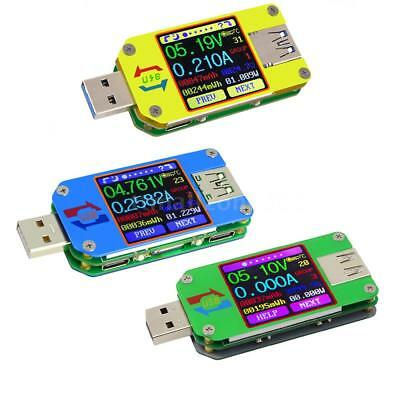 RD USB 2.0 3.0 Color LCD Display Tester Voltage Current Capacity Energy Meter