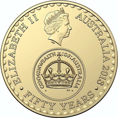 2018 $2 30th Anniversary CHANGEOVER same as 2016 but 2018 date on Obverse