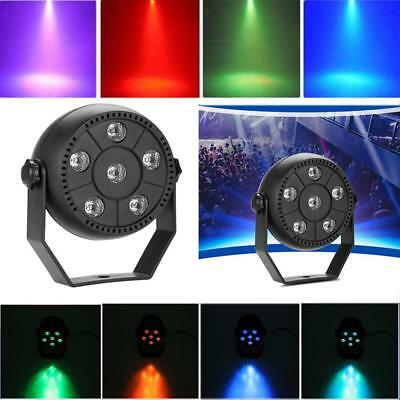 9W RGB LED Par Light Adjustable Dance Party KTV DJ Lighting Stage Lamp TPT