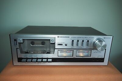 Kenwood KX-400 stereo cassette player/recorder made in Japan