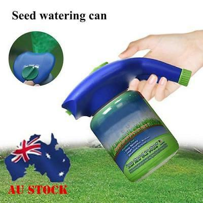 AU! Handheld Plastic Garden Seed Watering Can Pot Lawn Home Plant Sprinkling Can