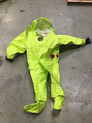 Respirex Tychem TK Gas Tight Suit GTS chemical suit