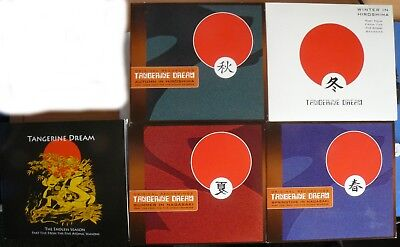 Tangerine Dream - The Five Atomic Seasons Collection Cds