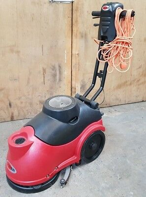 Viper Fang As380 240 Volt Scrubber Dryer Scrubbing / Cleaning Machine