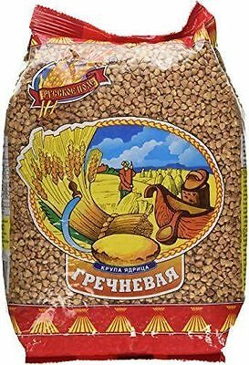 Russkoe Pole Buckwheat Groats, 31.7 oz