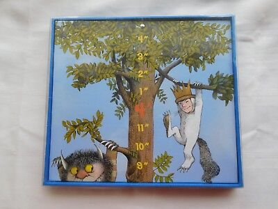 Where The Wild Things Are Photo Growth Chart Peaceable Kingdom Press Height Baby
