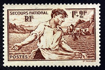 France Les Semailles  Secours National Timbre Neuf N° 467 **  Mnh 1940    B4