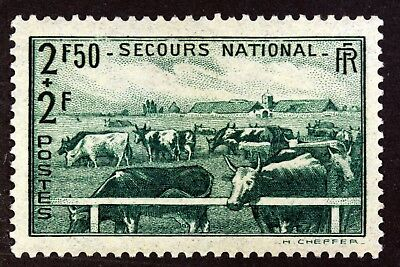 France L Elevage   Secours National Timbre Neuf N° 469 **  Mnh 1940    B4