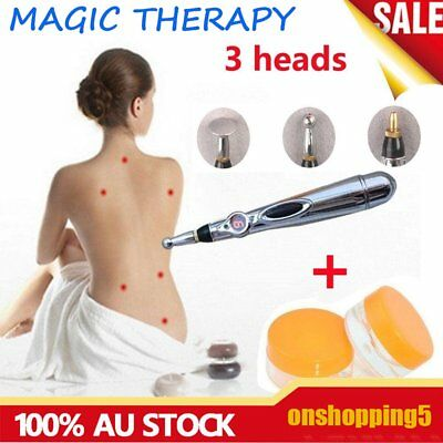 Funky Electric Acupuncture Magnet Therapy Heal Massage Pen Meridian Energy BU