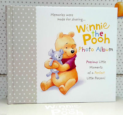 New and Sealed Hallmark Winnie the Pooh Baby Photo Album for 50 Photographs