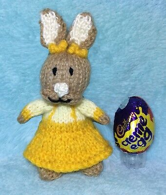 Knitting Pattern Cottontail Inspired Choc Cover Peter Rabbit