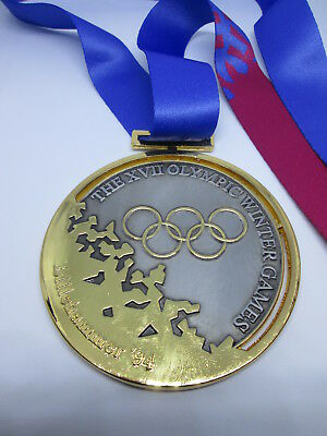 LILLEHAMMER 1994  Olympic Replica GOLD MEDAL