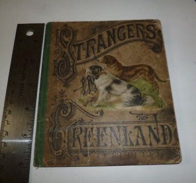 Strangers in Greenland American Tract Society Antique 1881 Book Illustrated