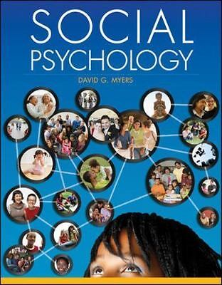 Social Psychology by David Myers ( Hardcover 11TH EDITION) ((6/5/18))