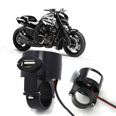 New USB 12V Motorcycle Mobile Phone Power Supply Socket Charger Waterproof