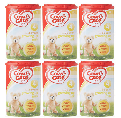 Cow & Gate Stage 4 Growing Up Milk Powder From 2-3 Years 800g x 6