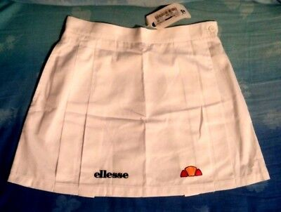 SKIRT TENNIS  woman vintage 80's ELLESSE tg.44-M Made in Italy new   RARE